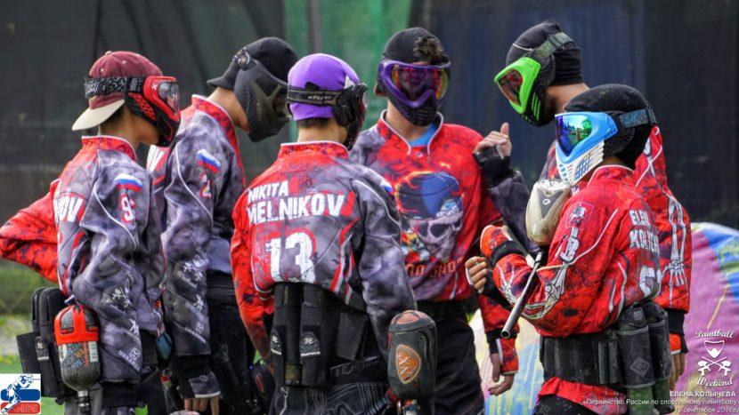 Пейнтбольная команда SnapShot Москва