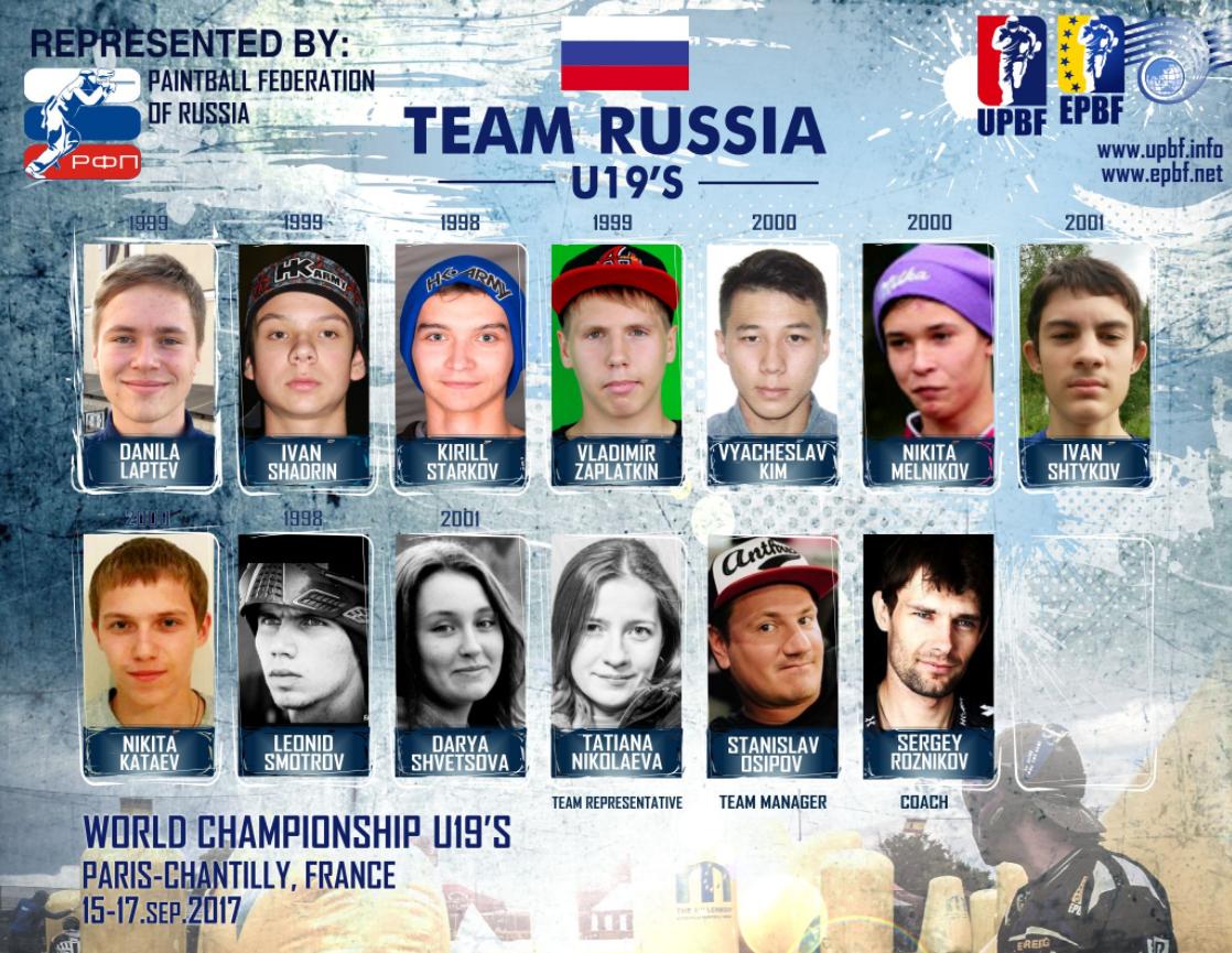 Никита Мельников в Молодежной сборной России 2017