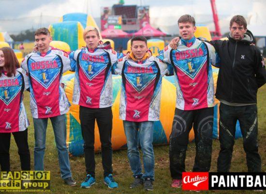 Юношеская Сборная России по спортивному пейнтболу U19 2017